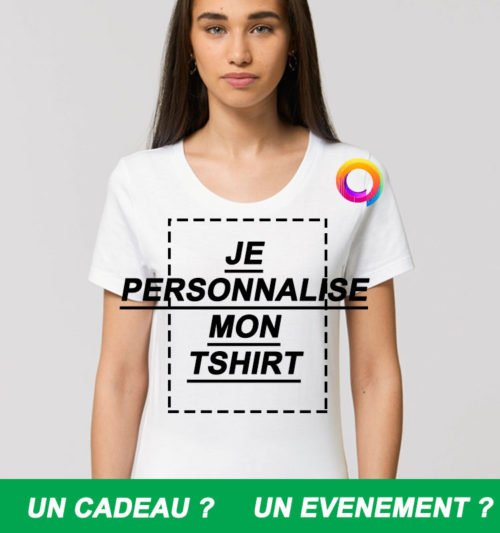 tee shirt femme personnalise