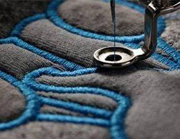 broderie textile et t shirt