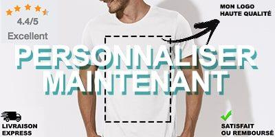 les mieux notés check-out pas cher Tee Shirt Personnalisé Jusqu'à -70% et Impression T Shirt France