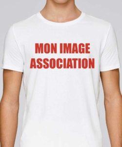 t shirt personnalisé association