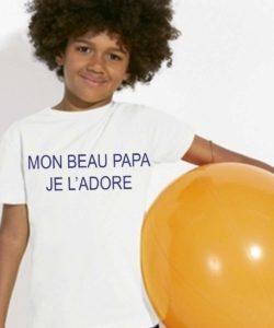 t shirt personnalisé beau papa
