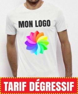 tee shirt tarif dégressif