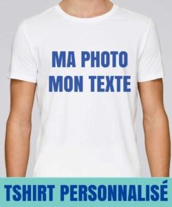 t shirt personnalisé photo