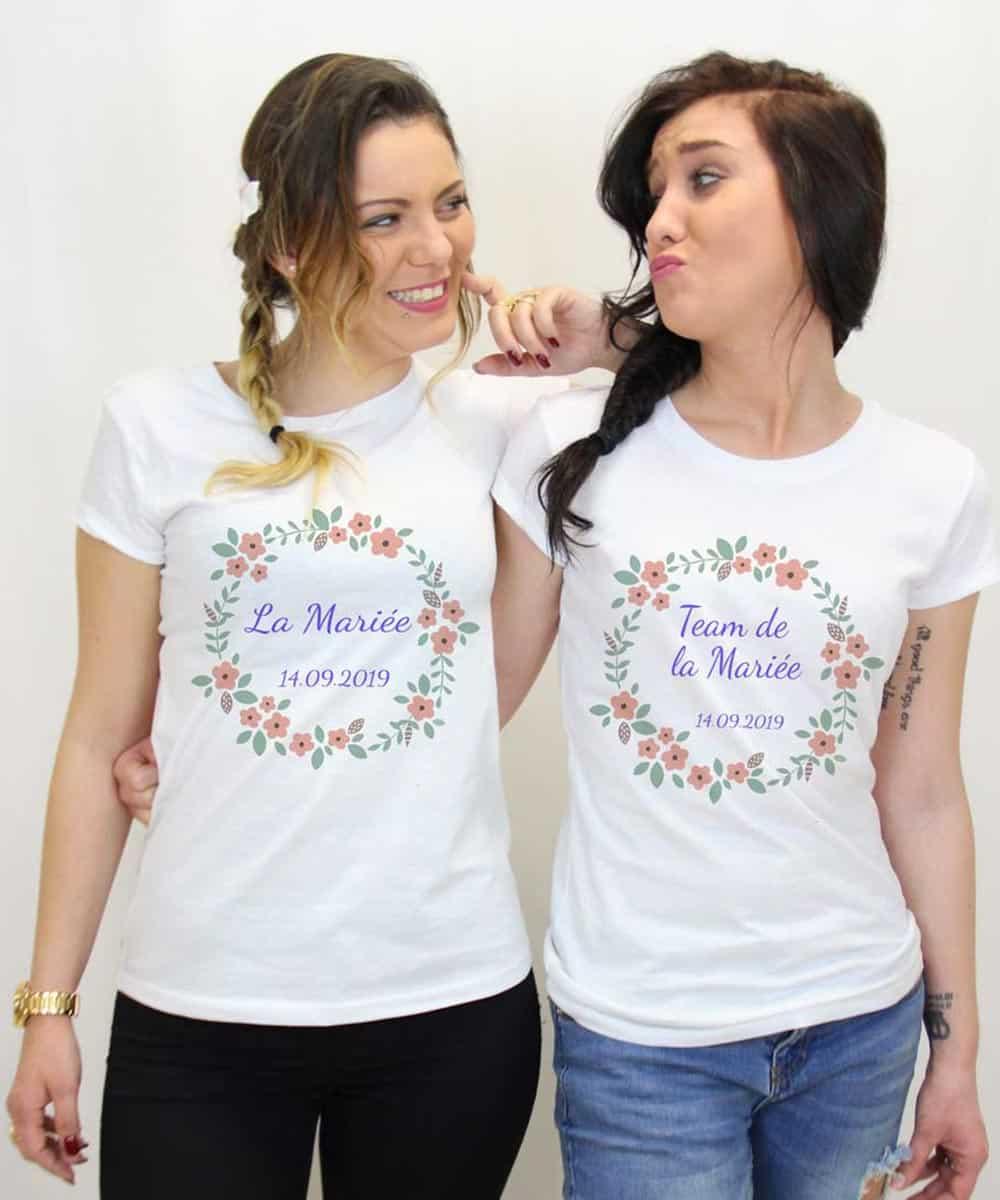 ⇒ Tee Shirt EVJF ,70% , Enterrement de vie de jeune fille