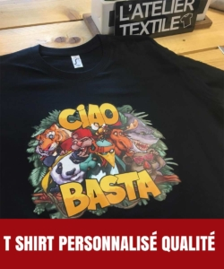 tee shirt personnalisé de qualité