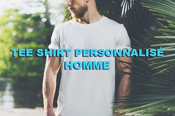tee shirt personnalisé homme