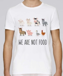 tshirt we are not food