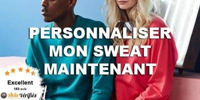 sweat personnalisé homme et femme