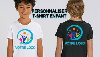 t shirt personnalisé enfant