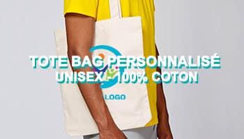 tote bag personnalisé coton