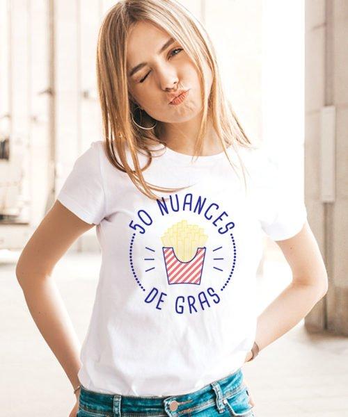 Tee-shirt 50 nuances de frite