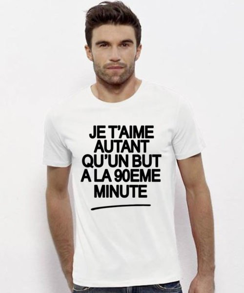 T-shirt but 90ème