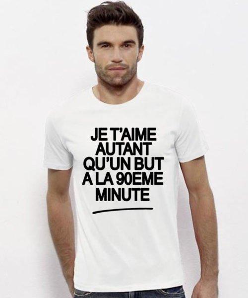 T-shirt but 90ème