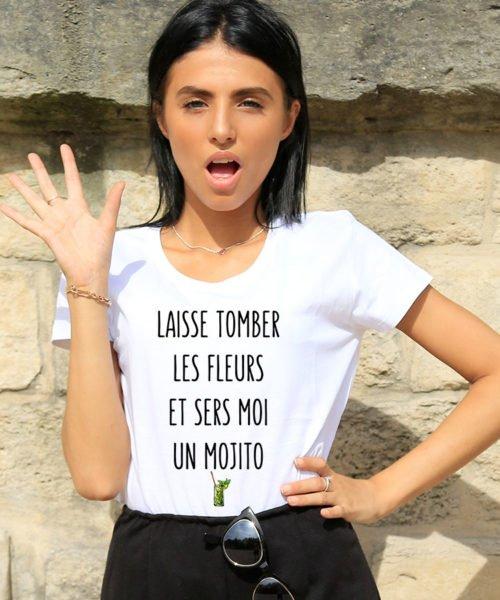 T-shirt femme mojito