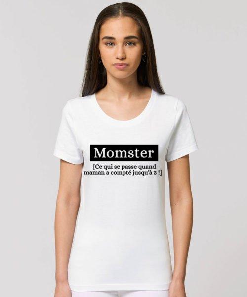 T-shirt maman monstre