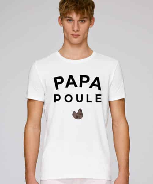 tee shirt papa poule