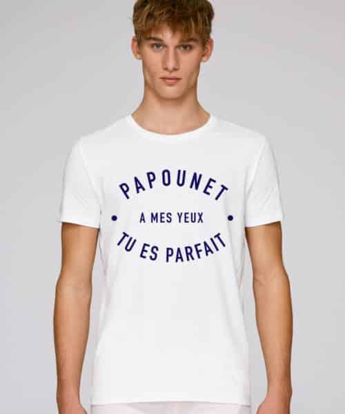 t-shirt papounet a mes yeux parfait