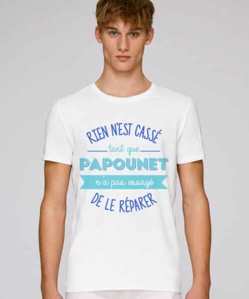 t-shirt papounet rien n'est cassé