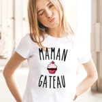 T-shirt Maman cuisto