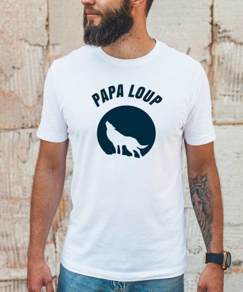T-shirt papa loup