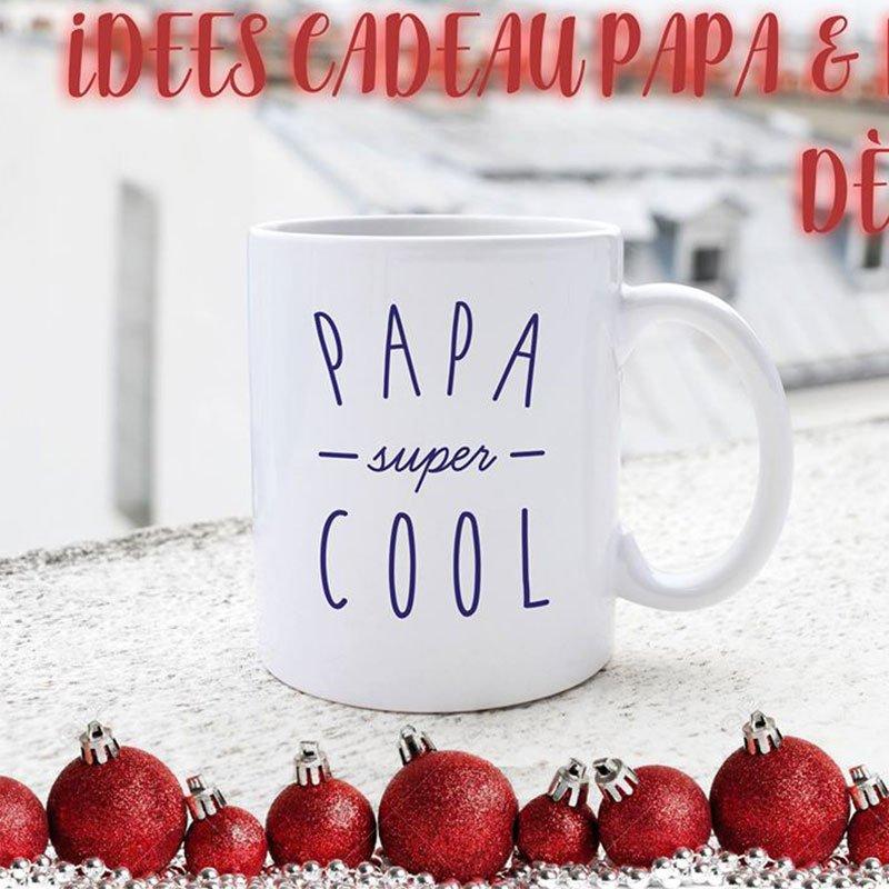 mug cadeau papa