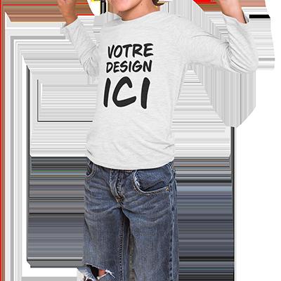 tee shirt personnalisé enfant design