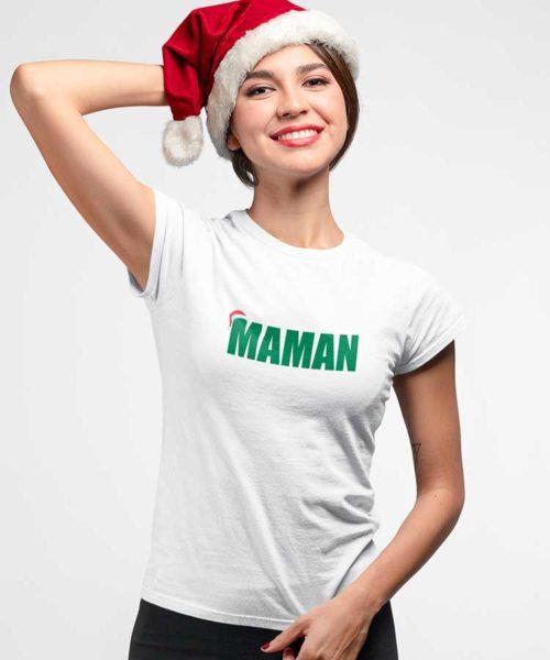 t-shirt maman noel