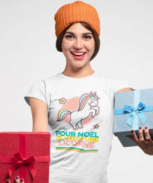 t-shirt-pour-noel-je-veux-une-licorne